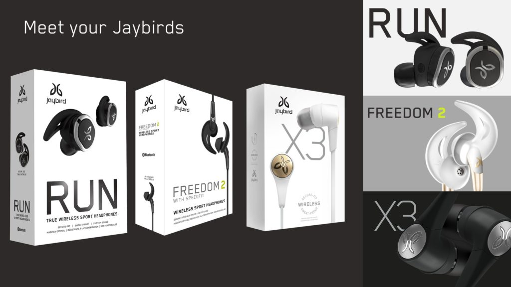 Jaybird PowerPoint Slide One