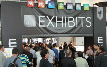 CEDIA Tradeshow Entrance