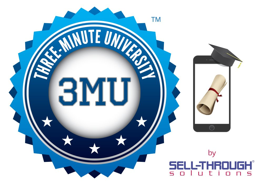Three-Minute University badge